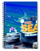 The Living Seas Signage Walt Disney World Spiral Notebook
