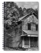 The Local Haunted House Spiral Notebook