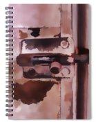 The Lock II Spiral Notebook
