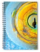 The Lock Spiral Notebook