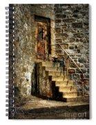 The Locked Door Spiral Notebook
