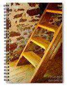 The Loft Steps Spiral Notebook