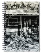 The Log Cabin Spiral Notebook