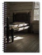The Log Cabin C.1785 Spiral Notebook