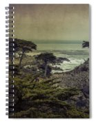 The Lone Cypress Spiral Notebook