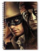 The Lone Ranger Spiral Notebook