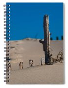 The Lonely Driftwood Spiral Notebook