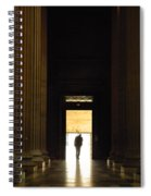 The Lonely Parisian Spiral Notebook