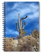 The Lonely Suguaro Spiral Notebook