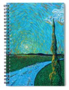 The Long Blue Road Spiral Notebook
