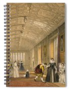 The Long Gallery At Lanhydrock Spiral Notebook