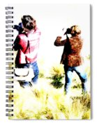 The Long Grass Spiral Notebook