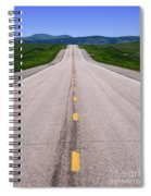 The Long Road Ahead Spiral Notebook