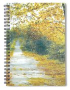 The Long Road Home - Oil Spiral Notebook