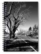 The Long Way Around  Spiral Notebook
