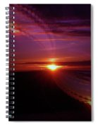 The Longest Sunset Spiral Notebook