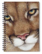 The Look Cougar Spiral Notebook