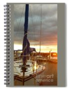 The Looming Clouds Spiral Notebook