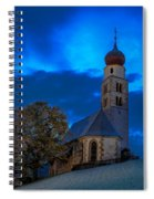 The Lord Is My Light - The Italian Dolomites Spiral Notebook