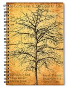 The Lord Jesus Is The Tree Of Life Spiral Notebook