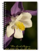 The Lord Reigns Let All The Earth Rejoice Spiral Notebook