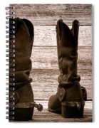 The Lost Boots Spiral Notebook