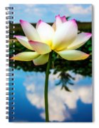 The Lotus Blossom Spiral Notebook