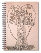 The Love And Celebration Of The Maple Tree Family Spiral Notebook