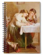 The Love Letter, 1871 Spiral Notebook
