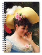 The Love Letter Detail Spiral Notebook