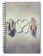 The Love Of A Ballerina Spiral Notebook