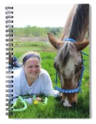 The Love Of Pets Spiral Notebook