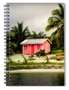 The Love Shack Spiral Notebook