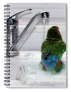 The Lovebird's Shower Spiral Notebook