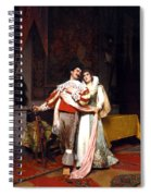The Lovers Farewell Spiral Notebook