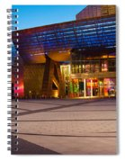The Lowry Complex At Dusk, Salford Spiral Notebook