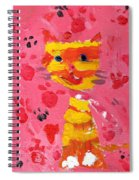 The Lucky Cat Spiral Notebook