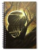 The Luminous Eclipse  Spiral Notebook