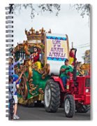 The Lure Of Beads Spiral Notebook