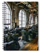 The Machine Shop Spiral Notebook
