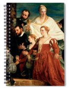 The Madonna Of The Cuccina Family Spiral Notebook