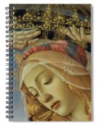 The Madonna Of The Magnificat Spiral Notebook