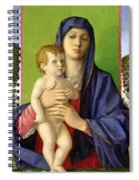 The Madonna Of The Trees Spiral Notebook