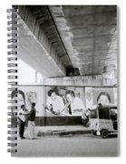 The Madras Street Spiral Notebook