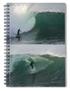 The Maestro Of Middle Peak Spiral Notebook