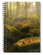 The Magic Forest Spiral Notebook