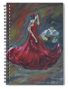 The Magic Of Dance Spiral Notebook