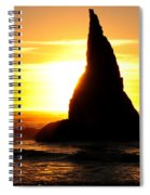 The Magician's Hat Spiral Notebook