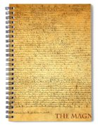 The Magna Carta 1215 Spiral Notebook