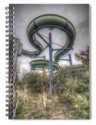 The Main Slide Spiral Notebook